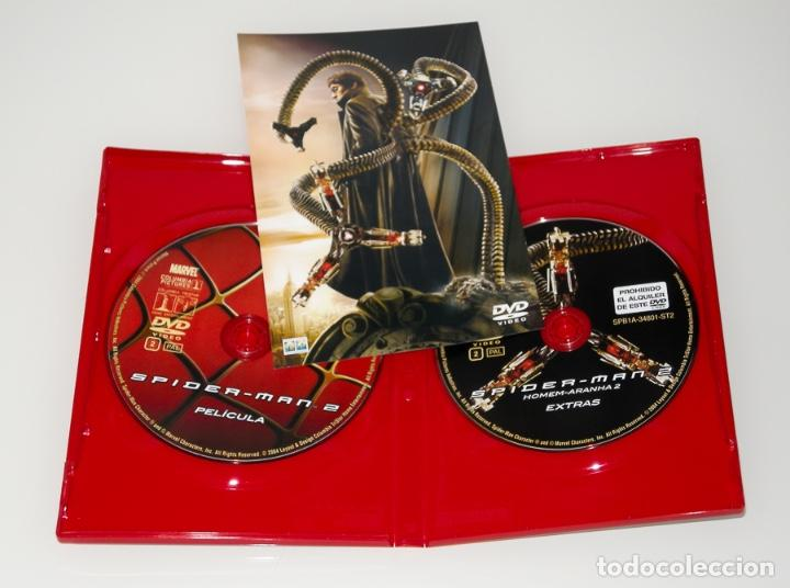 Series de TV: SPIDERMAN 2 - EXTRAS - DOS DISCOS DVD - Foto 2 - 129659959