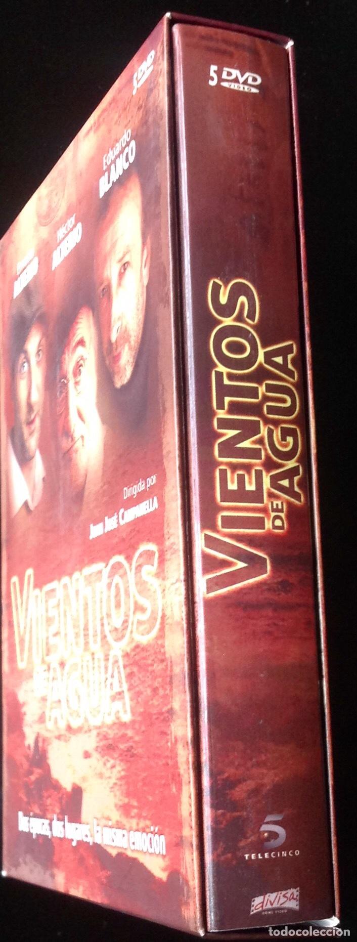 VIENTOS DE AGUA. DIRIGIDA POR JUAN JOSÉ CAMPANELLA CON ERNESTO ALTERIO, HÉCTOR ALTERIO Y E. BLANCO (Series TV en DVD)