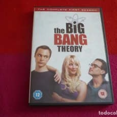 Series de TV: THE BIG BANG THEORY TEMPORADA 1 DVD PAL UK VOCES EN INGLES Y SUBTITULOS EN ESPAÑOL. Lote 130040147