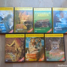 Series de TV: DVD. NATIONAL GEOGRAPHIC. ANIMALES. 7 DVDS.. Lote 130478084