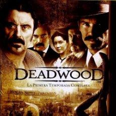 Cine: DEADWOOD. 1ª TEMPORADA COMPLETA.. Lote 130927100