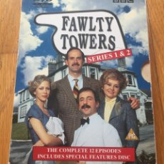 Cine: FAWLTY TOWERS SERIES 1 & 2, VERSION ORIGINAL. Lote 130932132