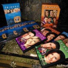 Series de TV: FRIENDS OCTAVA TEMPORADA COMPLETA + FRIENDS CENTRAL PERK SERIE 7 - TOTAL 8 DVD. Lote 131109632