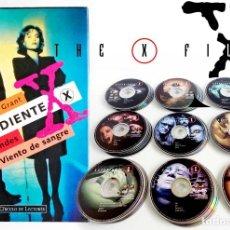 Series de TV: EXPEDIENTE X SERIE COMPLETA + REGALO LIBRO Y ESTUCHE. 53 DVD. TEMP. 1-9. Lote 110637011