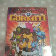 Series de TV: DVD. GORMITI. TEMPORADA 1. VOL 1-4. 4 DVDS.. Lote 131476223