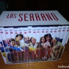 Series de TV: 17 DVD LOS SERRANOS, 34 EPISODIOS. NUEVO EXCEPTO Nº 1,2,3. B36DVD. Lote 131477834