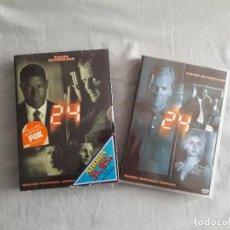 Series de TV: 04-00030-31 SERIE DVD 24H -TEMPORADAS 1 Y 2. Lote 131513510