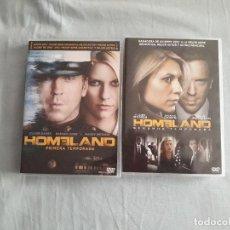 Series de TV: 04-00038-39 SERIE DVD HOMELAND TEMPORADAS 1 Y 2. Lote 131514462