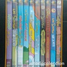 Series de TV: SIMPSON. COLECCIÓN COMPLETA- 10 DVDS EL MUNDO.. Lote 132572306