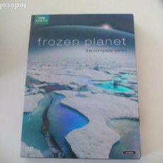Series de TV: FROZEN PLANET THE COMPLETE SERIES. NARRATED BY DAVID ATTENBOROUGH. 3 DVDS. Lote 132654410