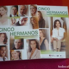 Series de TV: CINCO HERMANOS PRIMERA TEMPORADA COMPLETA 1ª DVD ( CALISTA FLOCKHART ) PAL ESPAÑA. Lote 132905198