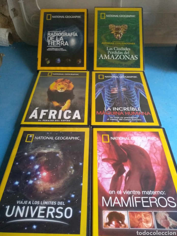 Series de TV: DVDS- documentales National Geographic - Foto 1 - 133012730