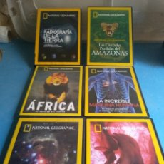 Series de TV: DVDS- DOCUMENTALES NATIONAL GEOGRAPHIC. Lote 133012730