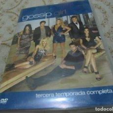 Series de TV: GOSSIP GIRL: TERCERA TEMPORADA COMPLETA (5 DVDS). Lote 133343170