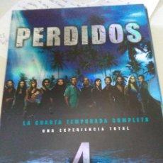Series de TV: PERDIDOS 4 TEMPORADA ( 6 DVDS ). Lote 133386250