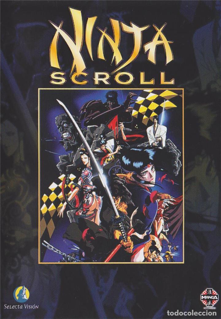 Ninja Scroll Sold Through Direct Sale 133510657