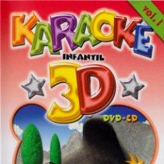 Cine: KARAOKE INFANTIL 3D VOL. 1. Lote 133690543