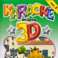 Cine: KARAOKE INFANTIL 3D VOL. 2. Lote 133690635