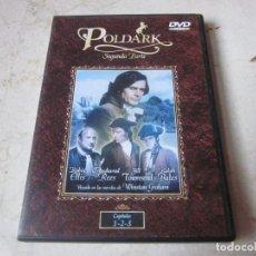 Cine: POLDARK SEGUNDA PARTE DVD - CAPITULOS 1,2 Y 3 - BBC TV. Lote 133691078