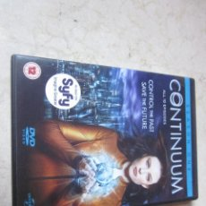 Cine: CONTINUUM SEASON ONE DVD - ALL 10 EPISODES - 3 DVDS - UNIVERSAL 2012. Lote 133691426