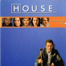 Cine: HOUSE TEMPORADA UNO . Lote 133722446