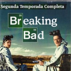 Series de TV: BREAKING BAD SEGUNDA TEMPORADA COMPLETA (PRECINTADO). Lote 133723118