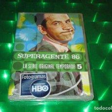 Series de TV: SUPERAGENTE 86 - DVD - E. Z4 Y21812 - HBO - LA SERIE ORIGINAL TEMPORADA 5 - PRECINTADA. Lote 134328642