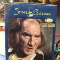 Series de TV: EL PÍCARO.RTVE 1974.SERIES CLÁSICAS.SERIE COMPLETA EN 3 DVD,INCLUYE JUAN SOLDADO.F.FERNÁN GÓMEZ. Lote 134503346