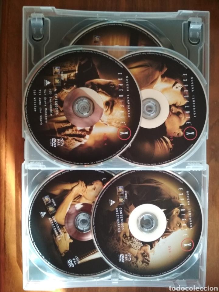 Series de TV: DVD EXPEDIENTE X TEMPORADA 9 INEDITA EN TV 7 DISCOS - Foto 2 - 134887738