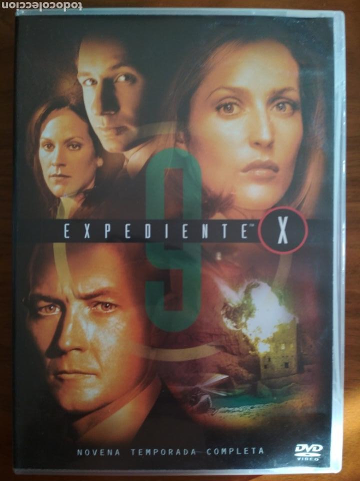 DVD EXPEDIENTE X TEMPORADA 9 INEDITA EN TV 7 DISCOS (Series TV en DVD)