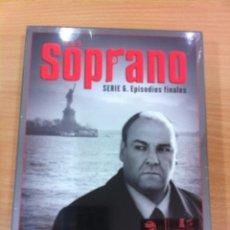 Series de TV: PACK DVD LOS SOPRANO - SERIE 6. EPISODIOS FINALES. WB - HBO, 2007. PRECINTADO. Lote 88592152