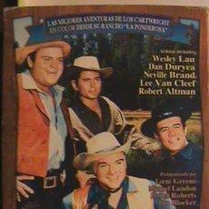 Series de TV: DVD'S (5) BONANZA, PRECINTADO.. Lote 135172430