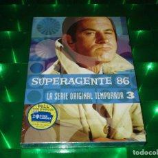 Series de TV: SUPERAGENTE 86 ( LA SERIE ORIGINAL - TEMPORADA 3 ) - DVD - PRECINTADA - HBO VIDEO. Lote 135244142