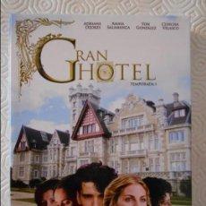 Series de TV: GRAN HOTEL. TEMPORADA 1. ESTUCHE CON 3 DVD'S. ADRIANA OZORES, AMAIA SALAMANCA, YON GONZALEZ, CONCHA . Lote 135557066