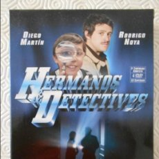 Series de TV: HERMANOS DETECTIVES. PRIMERA TEMPORADA COMPLETA. ESTUCHE CON 4 DVD'S CON 13 CAPITULOS. DIEGO MARTIN . Lote 135557242