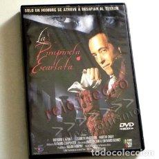 Series de TV: LA PIMPINELA ESCARLATA DVD - SERIE DE TELEVISIÓN BBC - ACCIÓN SUSPENSE ÉPOCA LA REVOLUCIÓN FRANCESA. Lote 135878326