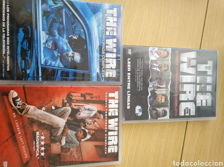 3-4-5 temporada the wire - Buy TV Series on DVD at todocoleccion ...