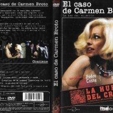 Series de TV: EL CASO DE CARMEN BROTO - PEDRO COSTA - LA HUELLA DEL CRIMEN. Lote 136319462