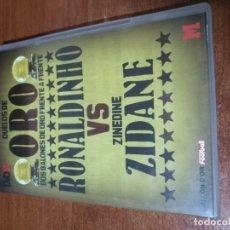 Series de TV: 2 DVD, DUELOS DE ORO, RONALDINHO - ZINEDINE ZIDANE. Y PELE - MARADONA. Lote 136439350