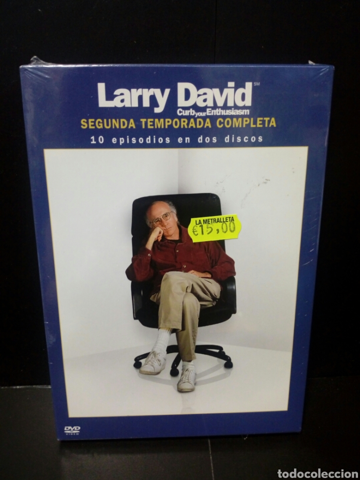 LARRY DAVID( SEGUNDA TEMPORADA COMPLETA) DVD (Series TV en DVD)