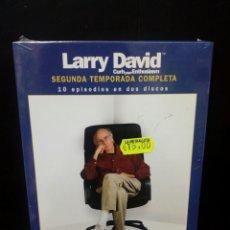 Serie di TV: LARRY DAVID( SEGUNDA TEMPORADA COMPLETA) DVD. Lote 136550813