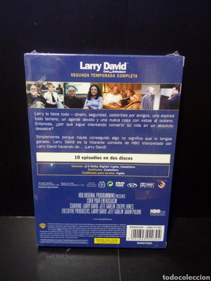 Series de TV: Larry David( segunda temporada completa) DVD - Foto 2 - 136550813