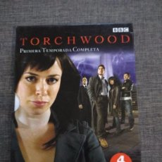 Series de TV: SERIE DVD TORCHWOOD - TEMPORADA 1 - COMPLETA - SPAIN - BBC. Lote 105569763