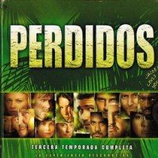 Series de TV: PERDIDOS TEMPORADA COMPLETA 3 ( 7 DVD). Lote 136796686