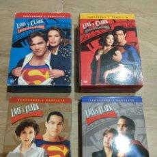 Series de TV: DVD. LOIS Y CLARK. SERIE COMPLETA DESCATALOGADA.. Lote 137250572