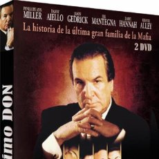 Series de TV: EL ULTIMO DON. DVD. DOS DISCOS. BASADA EN LA NOVELA DE MARIO PUZO. Lote 137659742