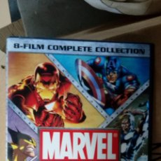 Series de TV: MARVEL ANIMATED FEATURES 8-FILM COMPLETE COLL [DVD] [REGION 1] [NTSC]. Lote 137852586