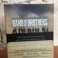 Series de TV: HERMANOS DE SANGRE BAND OF BROTHERS SERIE COMPLETA EN DVD NUEVA A ESTRENAR. Lote 137901718