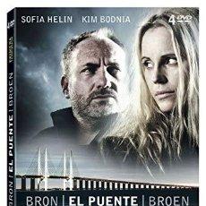 Series de TV: EL PUENTE. BRON. BROEN. DVD. PRIMERA TEMPORADA. 4 DISCOS. Lote 137929814