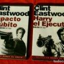 Series de TV: CLINT EASTWOOD (2 DVDS NUEVOS PRECINTADOS) HARRY EL EJECUTOR Y IMPACTO SUBITO - EDICIÓN LUJO. Lote 138531474